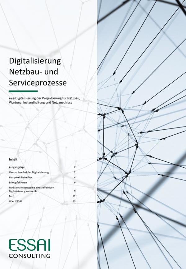 Digitalisierung Netzbau